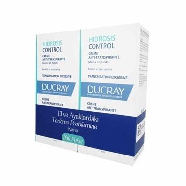 Ducray Ducray Hidrosis Control Antiperspirant Cream 2x50m Renksiz